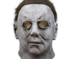 Realistic L Movie Michael Myers Cosplay Mask Adult Latex Full Face Helmet  Halloween Masquerade Costume Event Props Funny