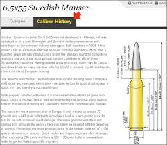 6 5 X 55 Swede Daily Bulletin