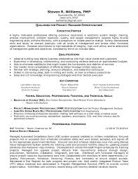 Project Manager Resume Summary Gorgeous Senior Project Manager Resume Unique Senior Project Manager Resume