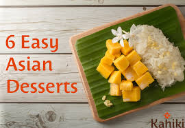 Simple but great asian dessert recipes