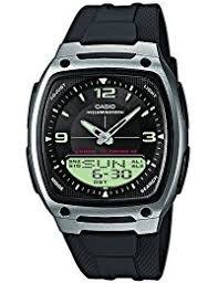 amazon co uk outdoor watches watches casio men s watch aw 81 1a1ves