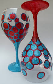 Wine Glass Decorating Designs Useful DIY Ideas How To Decorate Wine Glass 87