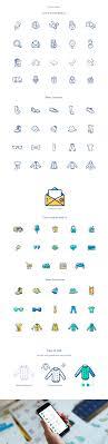 creative furniture icons set flat design. free icon set on behance creative furniture icons flat design e