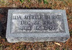 Ida Myrtle Milner Burke (1868-1965) - Find A Grave Memorial