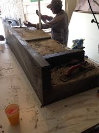 that being said we our concrete countertops mainly on the look for a modern or contemporary look granite just won t do our countertops are one of a