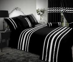 image of duvet cover egyptian cotton in black