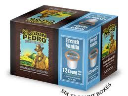 Don Pedro-72 ct. French Vanilla Arabica Low Acid Single Serve Brew-Cups