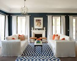 Navy Blue Living Room Decor Cool Blue Interior Design Ideas Nestopia