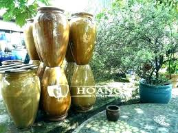 ceramic garden pots big large pot outdoor vases square outdoors glazed ceramic garden pots