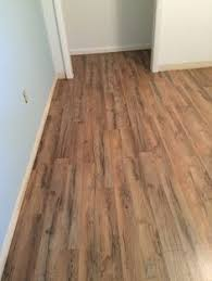 after new swiftlock laminate floor in tavern oak is down