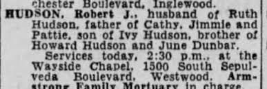Obituary for Robert J. HUDSON - Newspapers.com