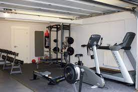 The only person that will get. Turn Your Garage Into A Home Gym