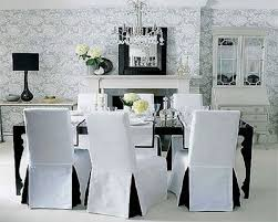 18 white dining room chair slipcovers white dining room chair slipcovers