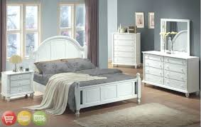 Richmond White Bedroom Furniture King Bedrooms Steens Richmond White ...