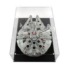 75192 10179 ucs millennium falcon display case