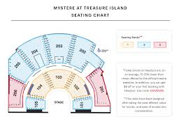 mystere seating chart