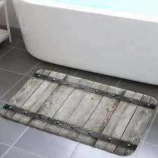 bath mats rugs toilet covers rustic