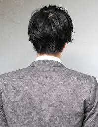 好印象メンズパーマビジネスミディアム人気長め髪型ns 091 ヘア