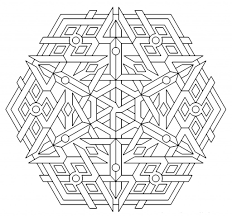 Free Printable Geometric Coloring Pages For Kids Coloring