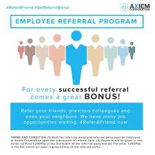 Employee Referral Bonus Job Fair Recruitment Services