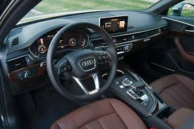 black audi a4 interior. 2017 audi a4 allroad dashboard black interior o