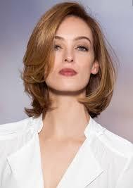 Frisur Damen Schulterlang Stilvolle Frisur Website Foto Blog