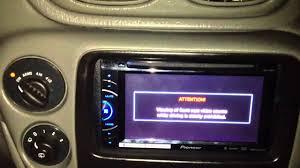 pioneer avh x2500bt installed on a 04 chevy trailblazer