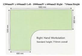 office desk size. Desk Dimensions Office Size H