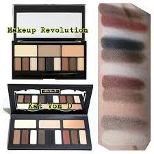 image result for makeup revolution ultra eye contour light shade palette