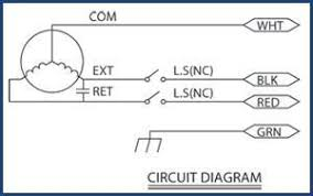 ls series linear actuator specifications linear actuator ls 25 26 and 28 wire diagram