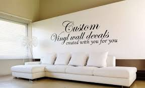 Small Picture Design your own quote custom wall art decal sticker