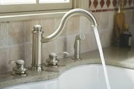 kohler kitchen faucets. Kohler Fairfax High Spout Kitchen Sink Faucet With Sidespray Faucets
