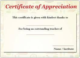 Best Of Best Of Printable Teacher Appreciation Certificate Template