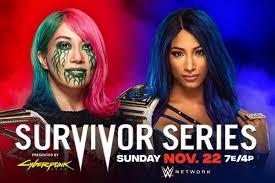 Sasha Banks Beats Asuka Via Pinfall at WWE Survivor Series 2020 | Bleacher  Report | Latest News, Videos and Highlights