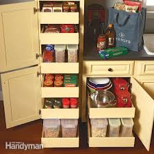 kitchen storage pull out pantry