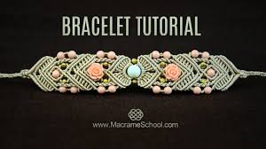 Macrame Bracelet Patterns Best Mirrored Macramé Bracelet TUTORIAL By Macrame School YouTube