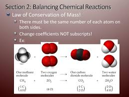 11 section 2 balancing chemical reactions