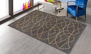 large geometric rug in 8 designs