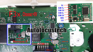 bmw f01 f02 f10 f15 f18 f20 f25 f30 f35 cas4 can block instrument 4 f3x ike instrument wiring diagram