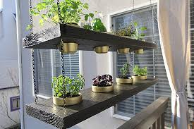 Diy Hanging Planter Herb Garden Video Withheart