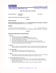 Lawn Service Contract Template 24 Lawn Service Contract Templates Free Word Pdf Documents Awesome 15