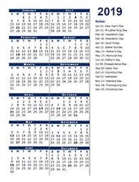 Week Number Calendar 2019 Yearly Business Calendar With Week Number Free