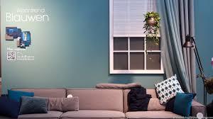 Woonkamer Ideeen Blauw Modern Woontrends Interieur Kleur