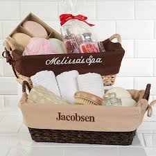 personalized woven wicker basket 8119
