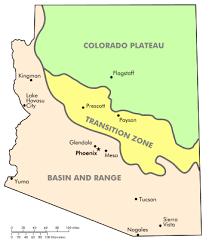 geography of arizona wikipedia Map Northeastern Arizona map of the physiographic regions of arizona map northeast arizona