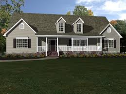 The Pocomoke is a ranch style home with an optional & finishable 2nd floor.  The