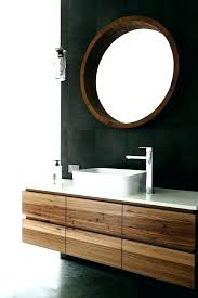 timber bathroom vanities bathroom vanity bathroom vanity floating timber vanity with shadow lines and stone bench timber bathroom