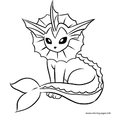 Small Picture POKEMON Coloring Pages Free Printable