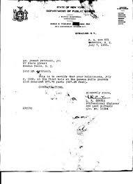 Jiggs Petrucci Hole In One Certification 1960 Seneca Falls