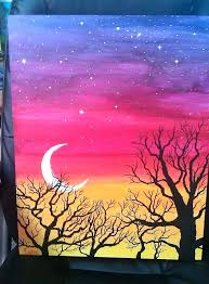 beginning acrylic painting easy paintings large size of exquisite home design easy acrylic painting ideas trees